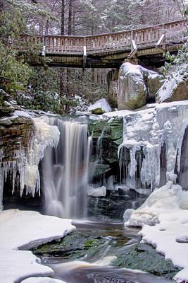Park Bridge Photograph - Usa, West Virginia, Blackwater Falls by Jaynes Gallery
