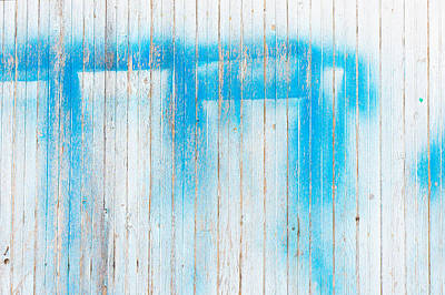 Construction Photograph - Wood Background by Tom Gowanlock