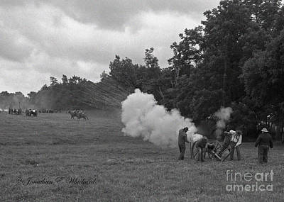 Photograph - 150 Civil War Battle Of Trevilian Station by Jonathan Whichard