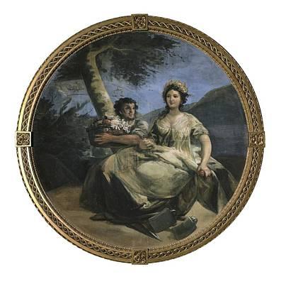 Bushel Basket Photograph - Goya Y Lucientes, Francisco De by Everett