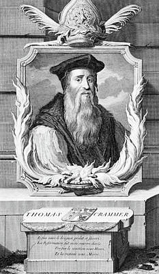 Catherine White Painting - 1500s Thomas Cranmer Archbishop by Vintage Images