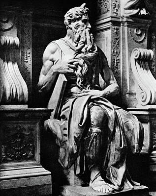 Michelangelo Photograph - 1500s Tomb Pope Julius 11 16th Century by Vintage Images