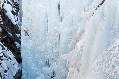 Christmas Christopher And Amanda Elwell - Ice Climb by Elijah Weber