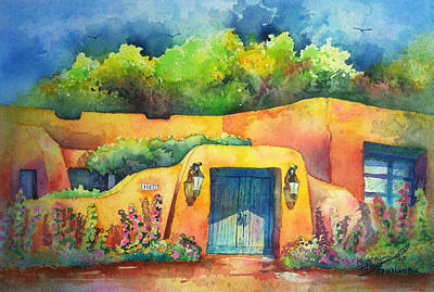 157 Old Lamy Trail Original by Michael Bulloch