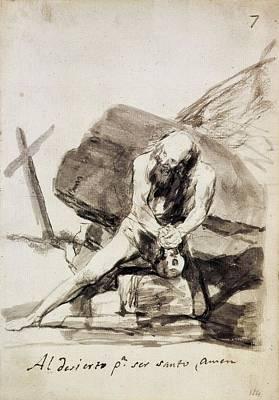 Amen Photograph - Goya Y Lucientes, Francisco De by Everett