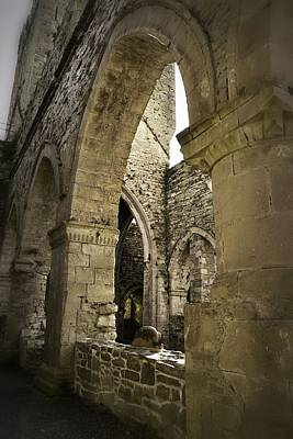 Photograph - 15th Century Architecture Of Jerpoint Abbey by Nadalyn Larsen