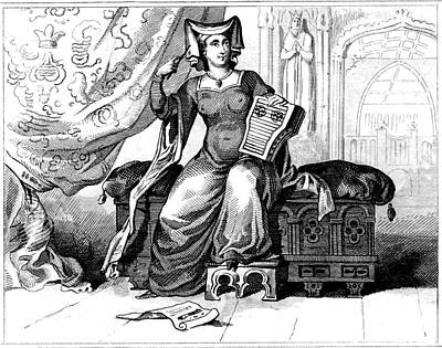 15th Century British Dress Art Print
