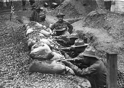 15th Infantry Prepares For War Art Print