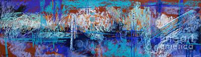 Bridges To Nowhere Art Print by Tracy L Teeter