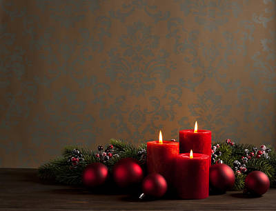 Photograph - Advent Christmas Wreath by Ulrich Schade