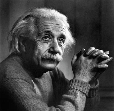 Head And Shoulders Photograph - Albert Einstein by Emilio Segre Visual Archives/american Institute Of Physics