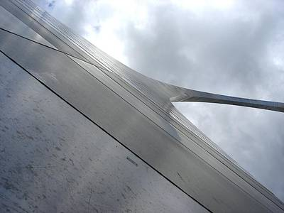 St. Louis Arch Photograph - Arch To The Sky by Kenny Glover