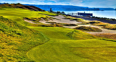 Photograph - #16 At Chambers Bay Golf Course - Location Of The 2015 U.s. Open Championship by David Patterson