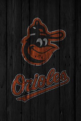Baltimore Orioles Art Print by Joe Hamilton