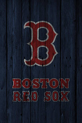 Boston Red Sox Art Print by Joe Hamilton