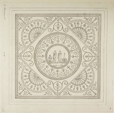 Etc. Photograph - Design For A Ceiling by British Library