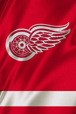 Iphone Case Photograph - Detroit Red Wings by Joe Hamilton