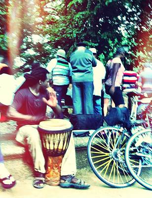 Photograph - Drum Circle  by Fareeha Khawaja