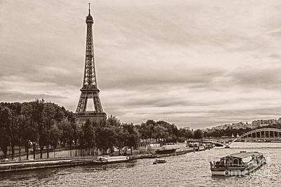 Paris Skyline Royalty-Free and Rights-Managed Images - Eiffel tower by IB Photography