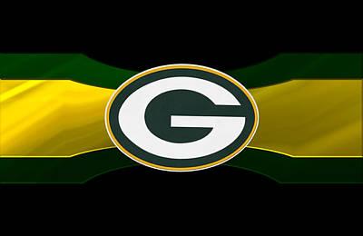 Football Photograph - Green Bay Packers by Joe Hamilton