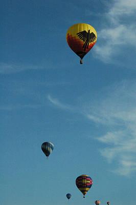 Hot Air Balloons Print by Gary Marx