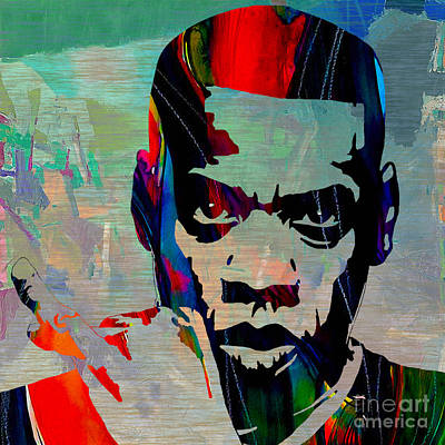 Jay Z Mixed Media - Jay Z by Marvin Blaine