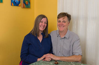 Photograph - Kathy And Allan by John Maffei