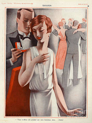 La Vie Parisienne 1920s France Cc Art Print by The Advertising Archives