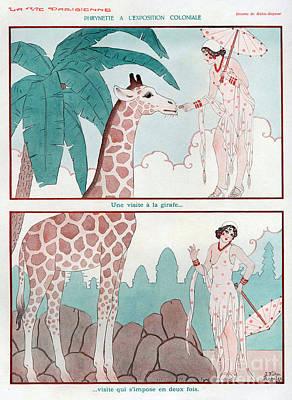La Vie Parisienne  1931 1930s France Cc Art Print by The Advertising Archives