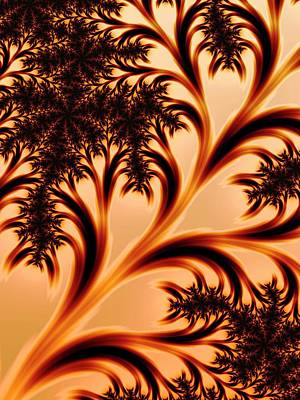 Psychedelic Photograph - Mandelbrot Fractal by Alfred Pasieka