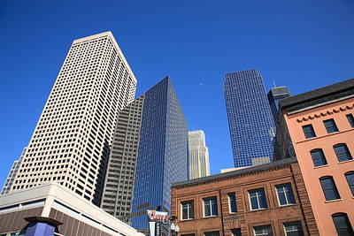 Photograph - Minneapolis Skyscrapers by Frank Romeo