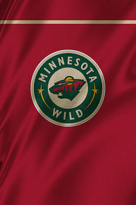 Skating Photograph - Minnesota Wild by Joe Hamilton