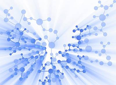 Molecule Photograph - Molecule by Alfred Pasieka