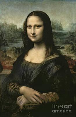 Portraits Painting - Mona Lisa by Viktor Birkus