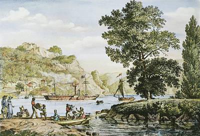 Robert Fulton's Clermont Art Print