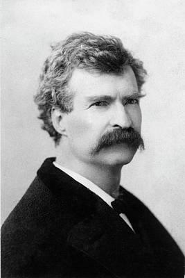 Samuel Langhorne Clemens (1835-1910) Art Print by Granger