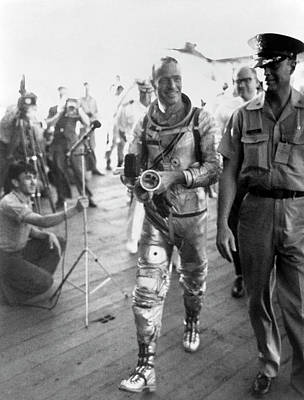 Intrepid Photograph - Scott Carpenter by Nasa