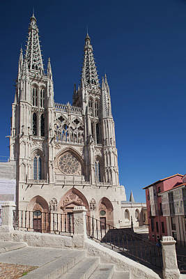 Spain, Castilla Y Leon Region, Burgos Print by Walter Bibikow