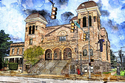 Digital Art - 16 Street Baptist Church 2 by Davina Washington