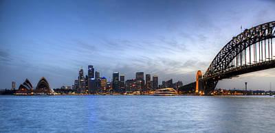 Sydney Skyline Photograph - Sydney by Karen Cowled