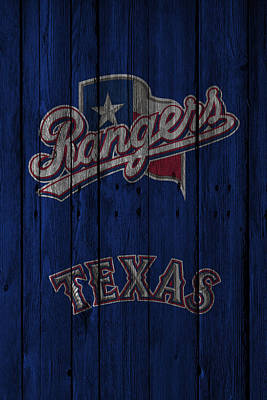 Photograph - Texas Rangers by Joe Hamilton