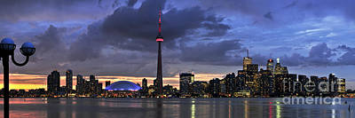 Harbor Photograph - Toronto Skyline by Elena Elisseeva
