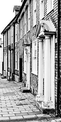 Neighbourhoods Photograph - Town Houses by Tom Gowanlock