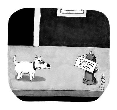J C Duffy Drawing - New Yorker January 14th, 2008 by J.C.  Duffy