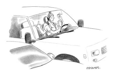 2007 Drawing - New Yorker January 8th, 2007 by Pat Byrnes