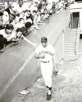 All-star Photograph - Willie Mays by Retro Images Archive