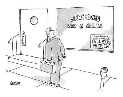 New Yorker September 11th, 2006 Art Print by Jack Ziegler