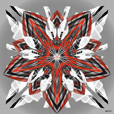 Digital Art - 1600 08 by Brian Johnson