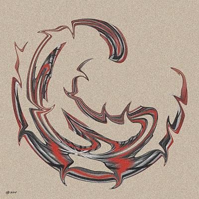 Digital Art - 1600 28 by Brian Johnson