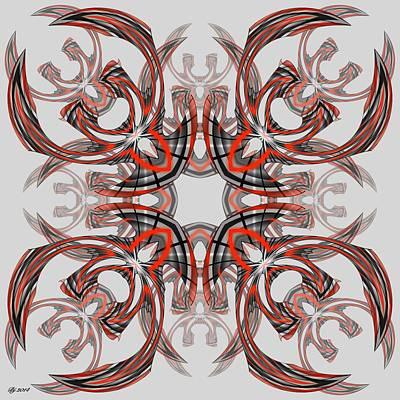 Digital Art - 1600 38 by Brian Johnson